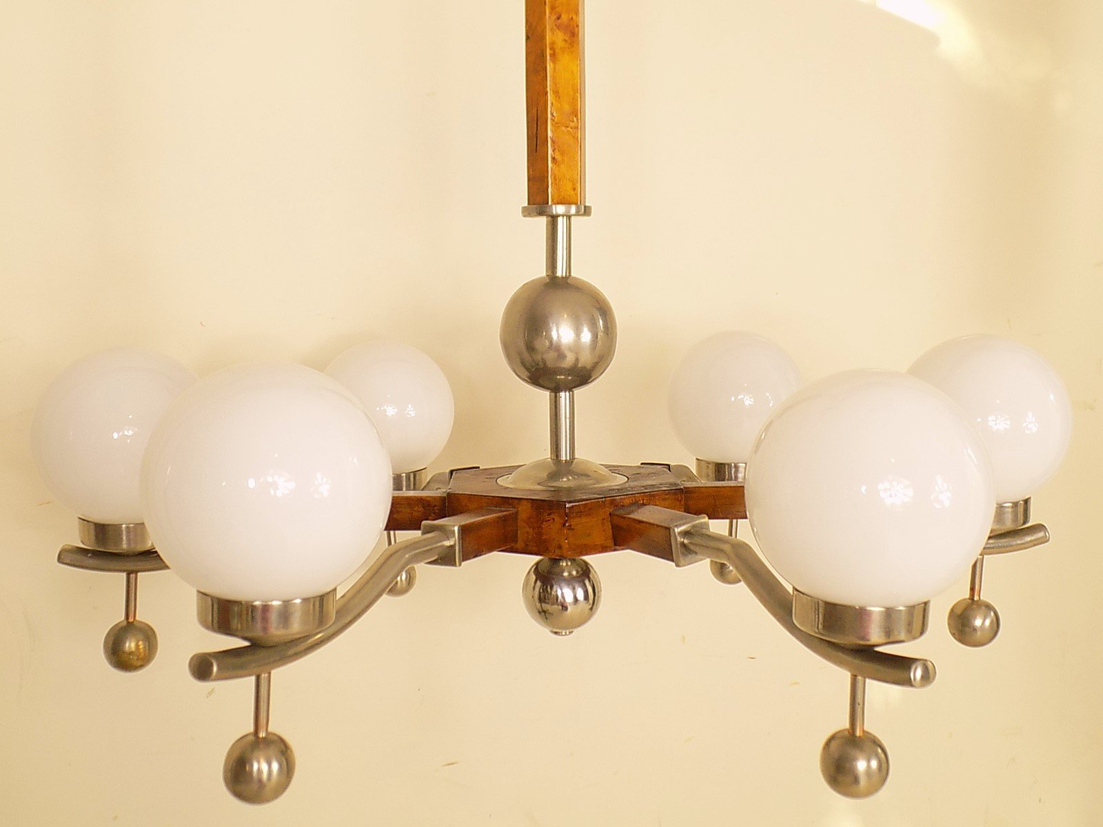 Art Deco Chandelier, 1930s for sale at Pamono