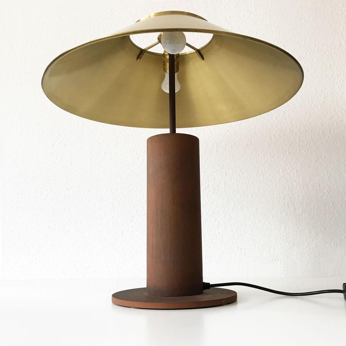 grande lampe de bureau par peter preller pour tecta 1980s