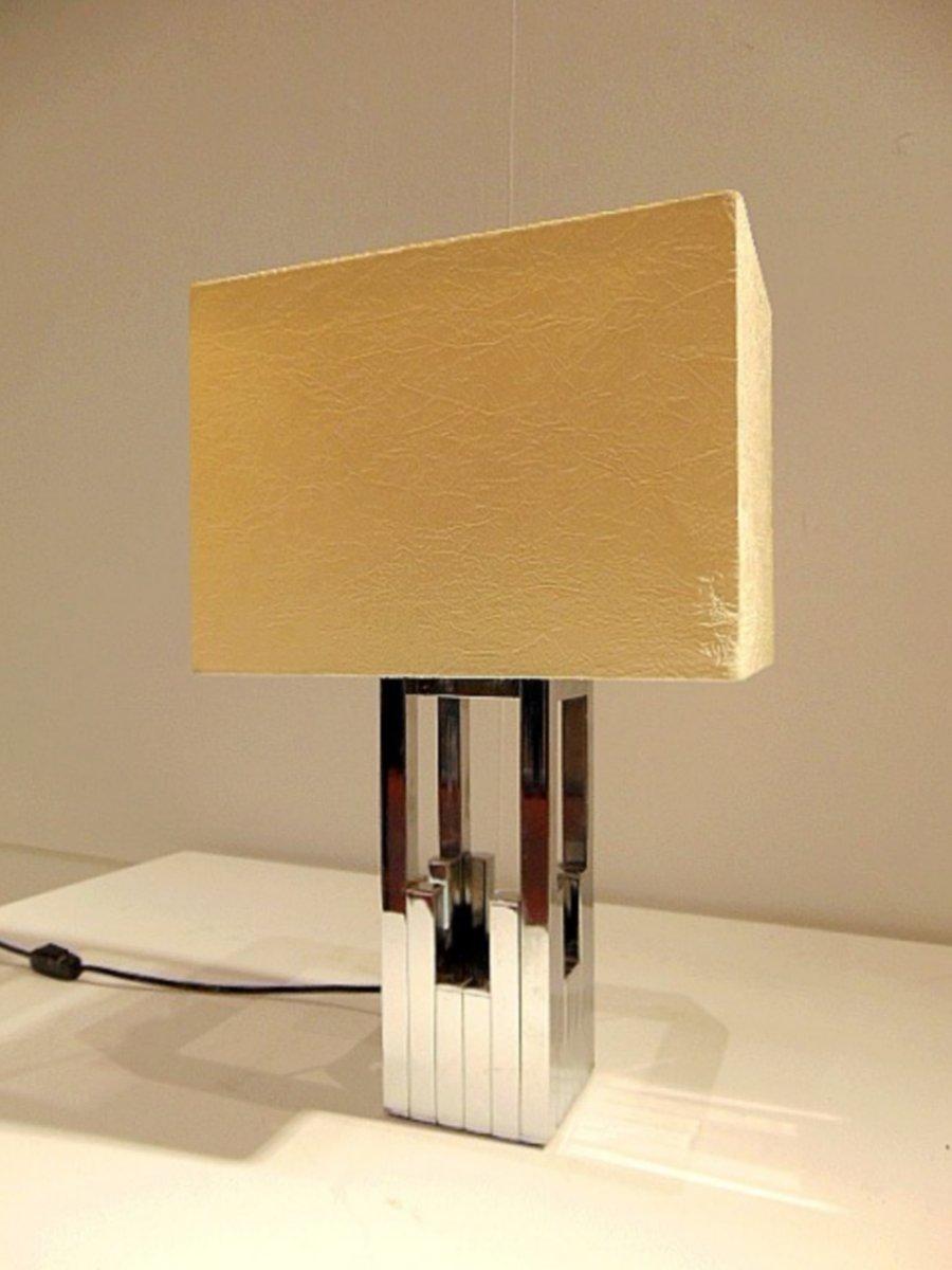 Vintage Tischlampe von Willy Rizzo für Lumica