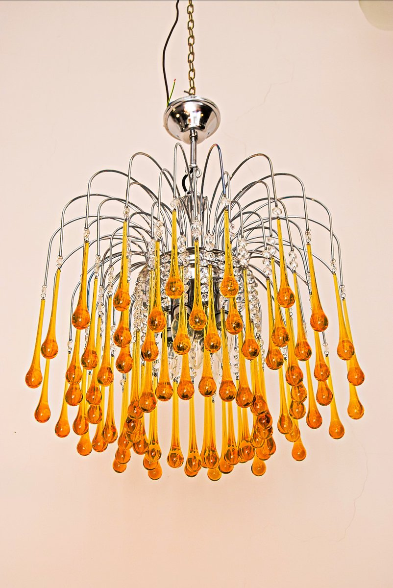 Murano glass chandelier by paolo venini 1960s murano glass chandelier by paolo venini 1960s aloadofball Choice Image