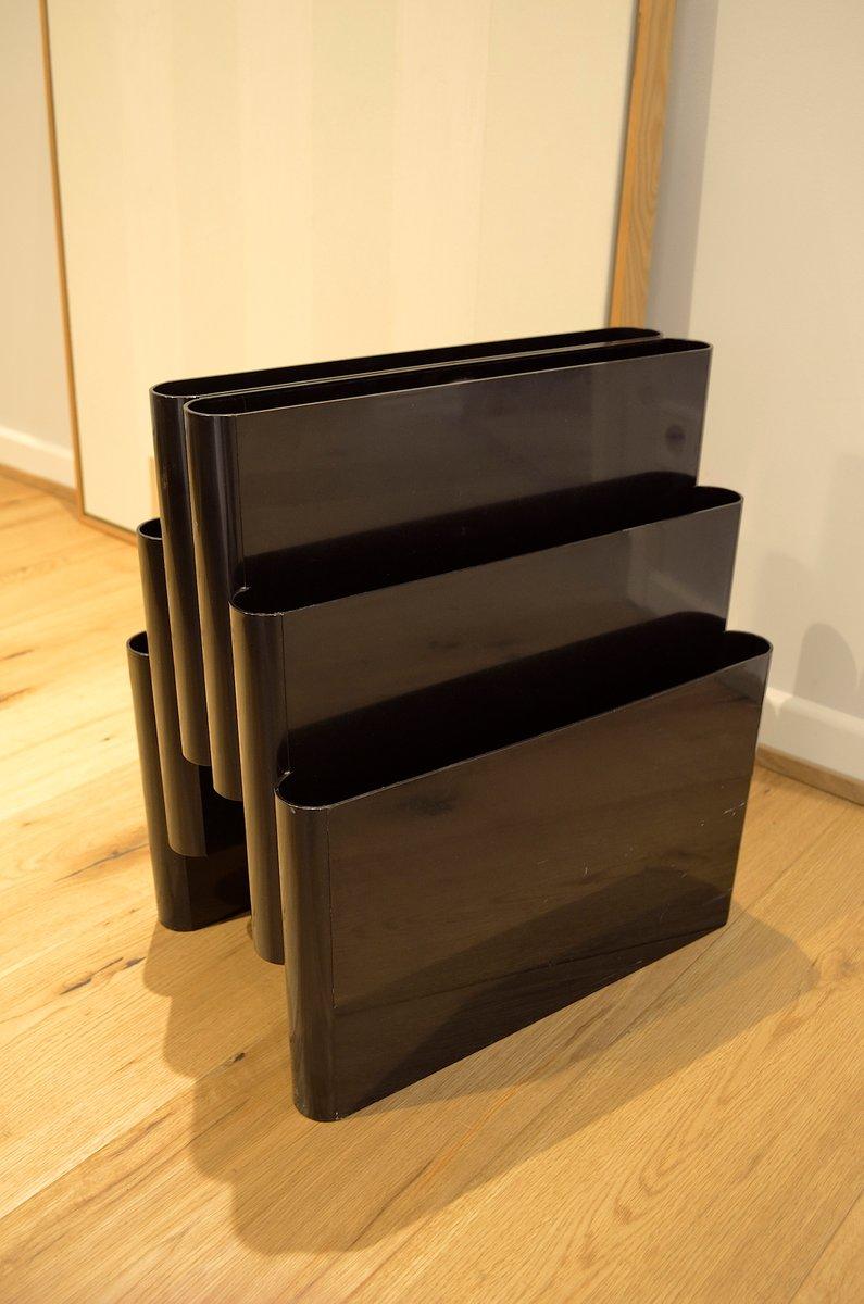 porte revues portariviste vintage par giotto stoppino pour kartell en vente sur pamono. Black Bedroom Furniture Sets. Home Design Ideas