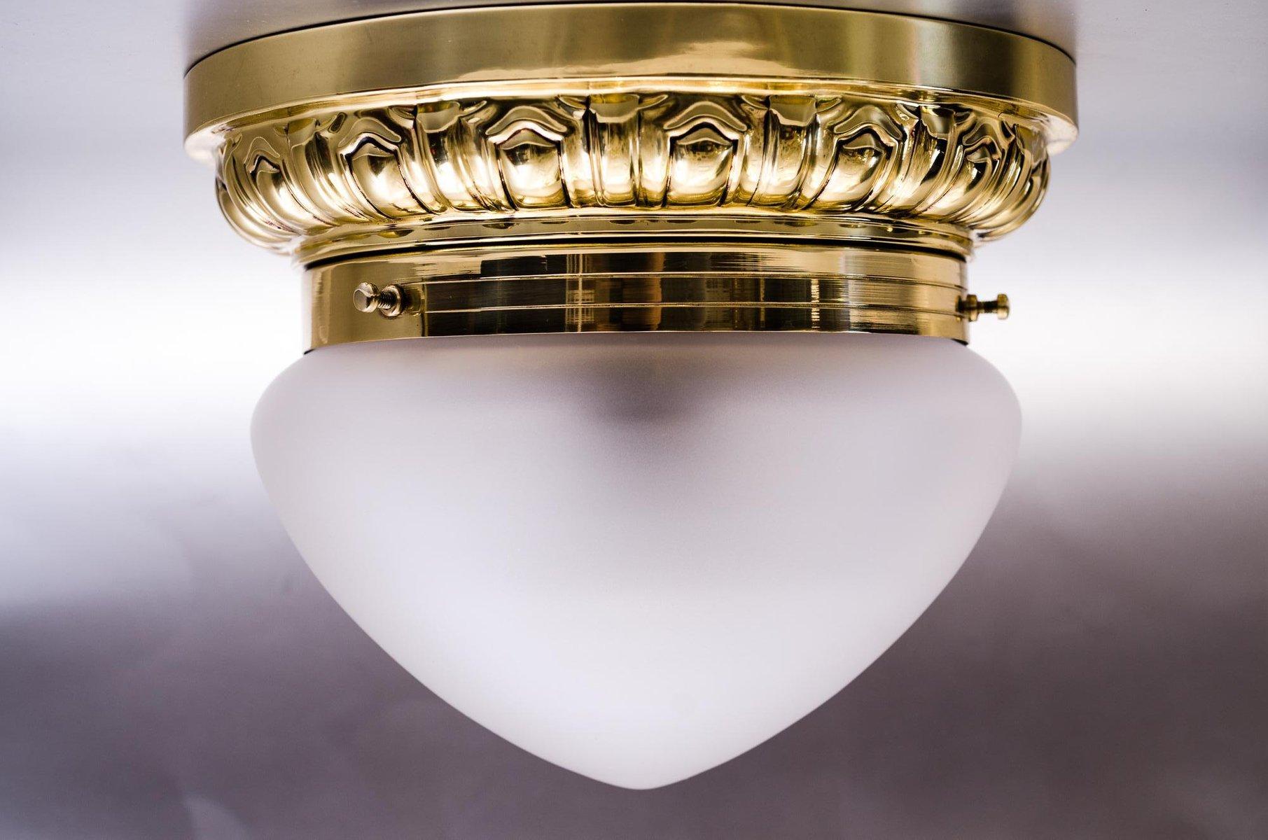 Art Deco Deckenlampe, 1920er