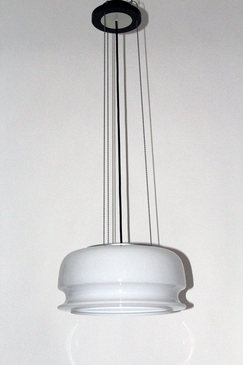 Glas Hängelampe von Kalmar, 1970er