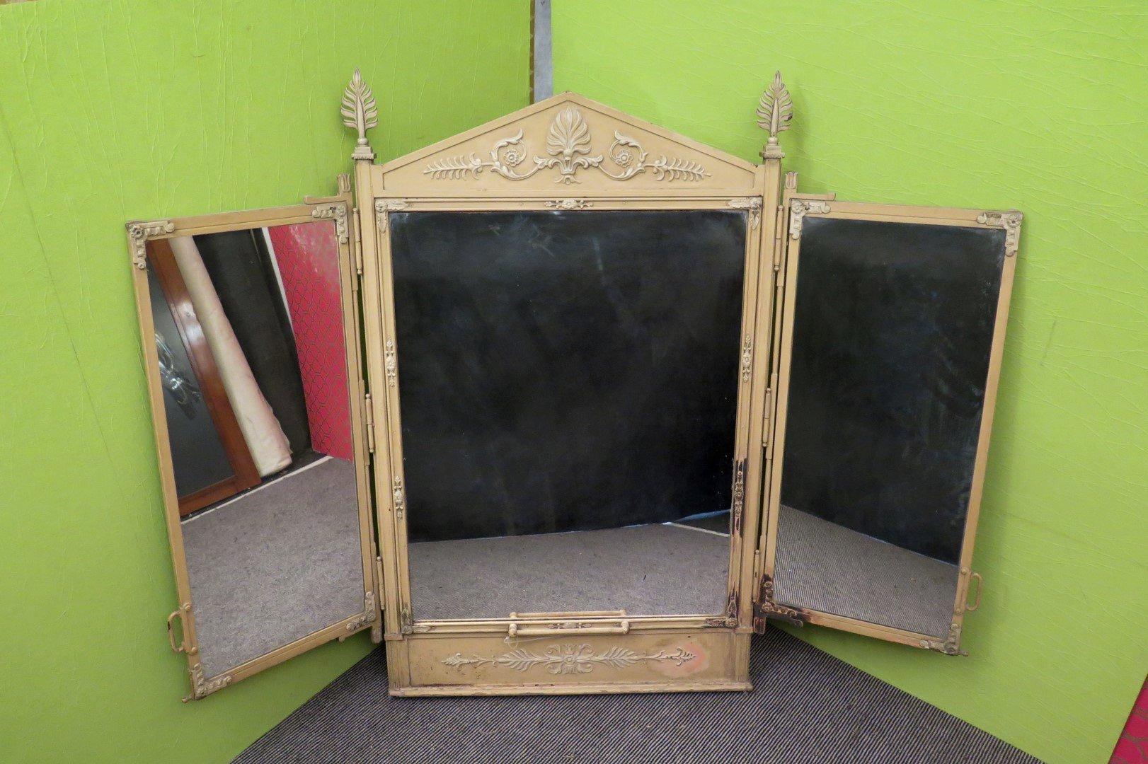 miroir de coiffure 1930s en vente sur pamono. Black Bedroom Furniture Sets. Home Design Ideas