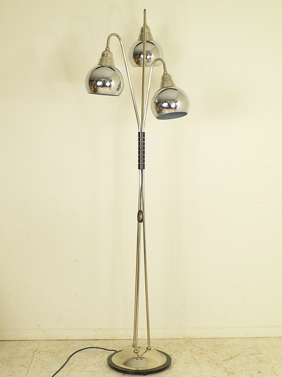Bauhaus Stehlampe, 1950er