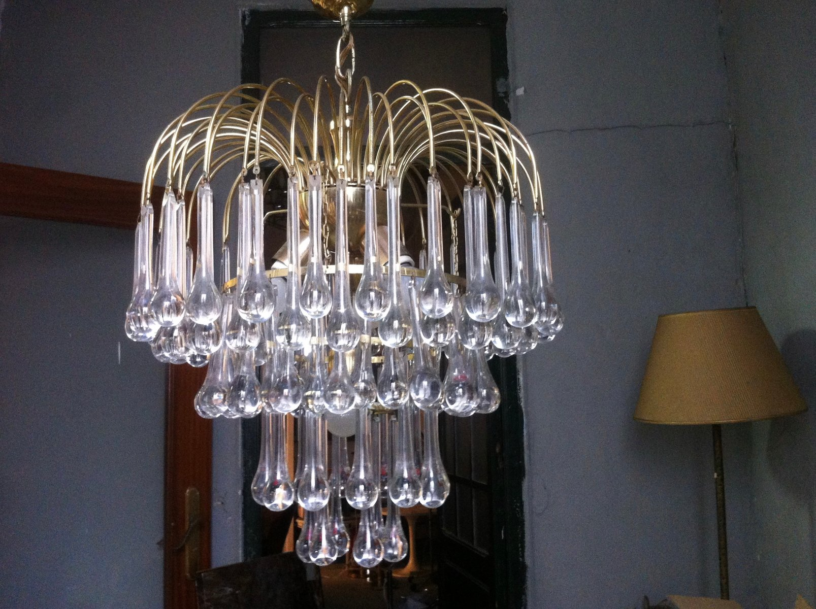 Come Pulire I Lampadari Di Murano.Gocce Di Vetro Per Lampadario Ricambi Per Lampadari Vetro Annunci D