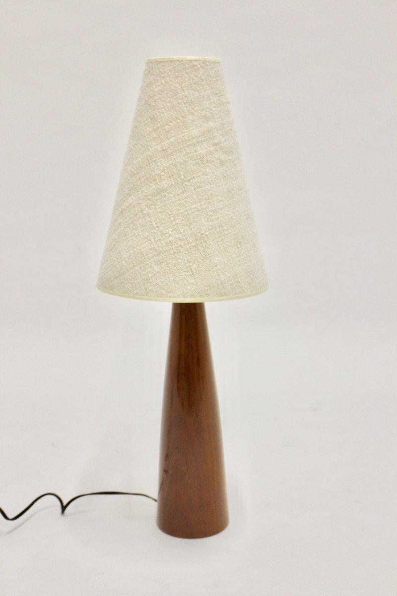 Dänische Teak Tischlampe, 1960er