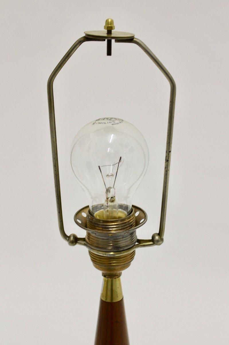 Danish Teak Table Lamp, 1960s for sale at Pamono