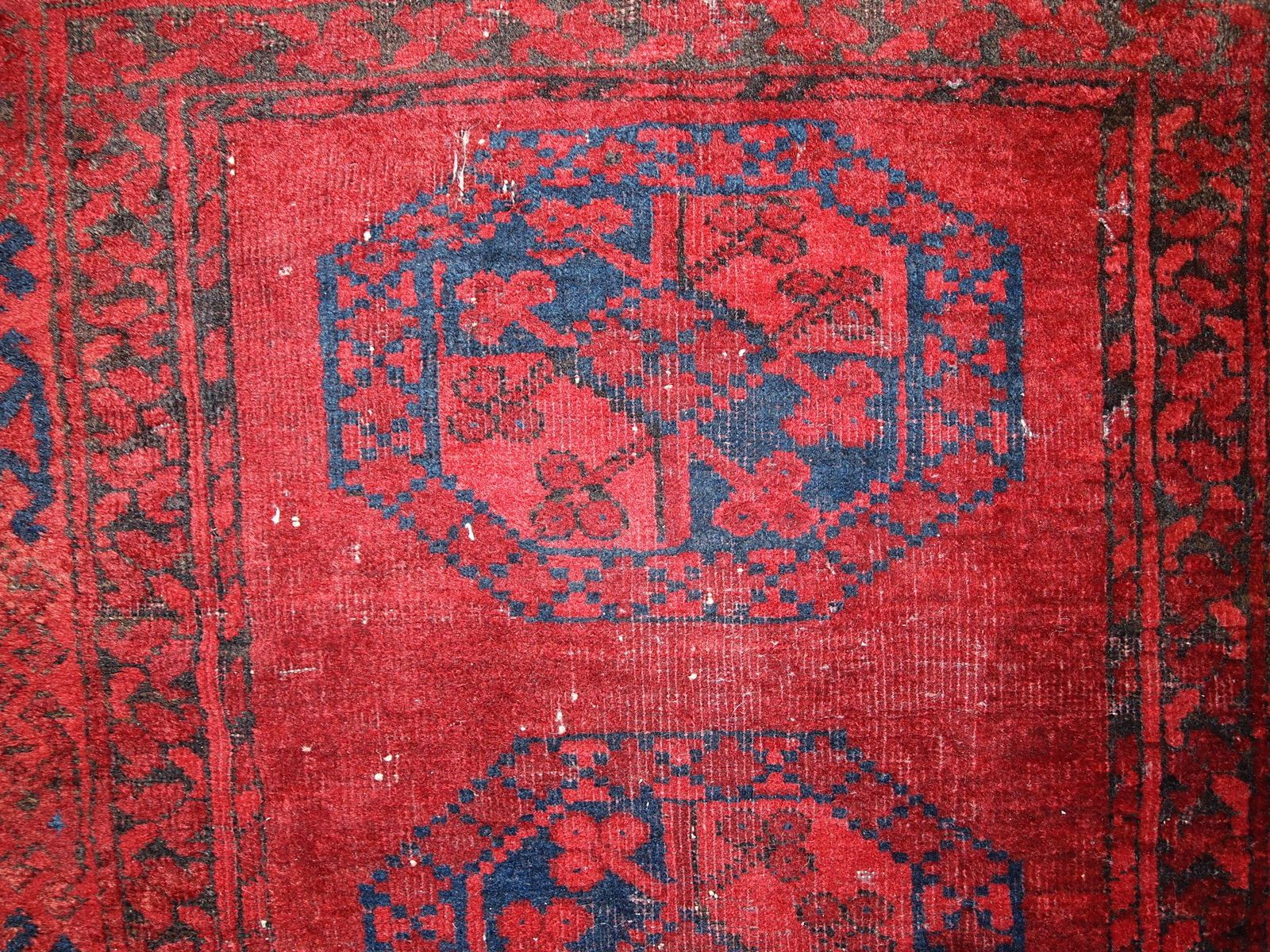 Antique Handmade Afghan Ersari Rug 1900s For Sale At Pamono