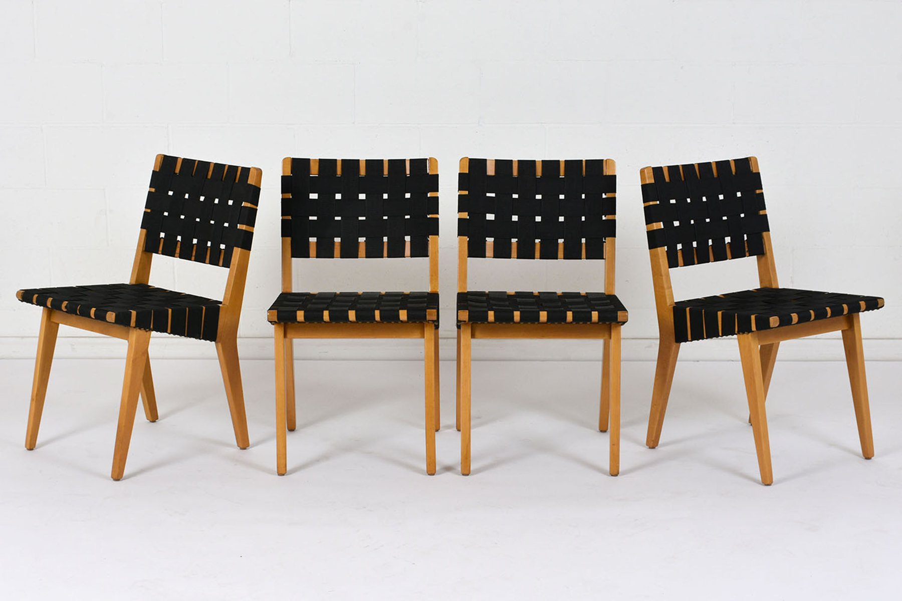 Mid Century Modern Dining Chairs Set Of 4 For Sale At Pamono
