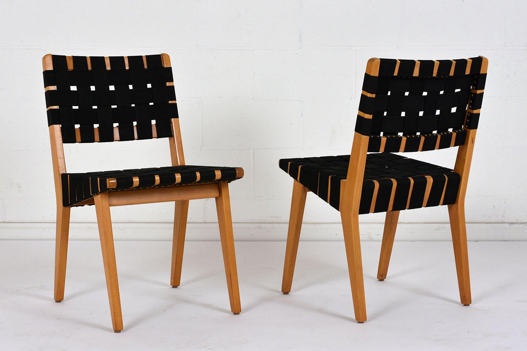 mid century modern esszimmerst hle 4er set bei pamono kaufen. Black Bedroom Furniture Sets. Home Design Ideas