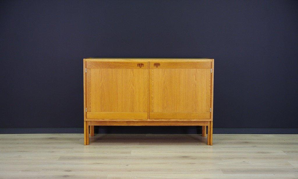Dänische Vintage Esche Furnier Kommode