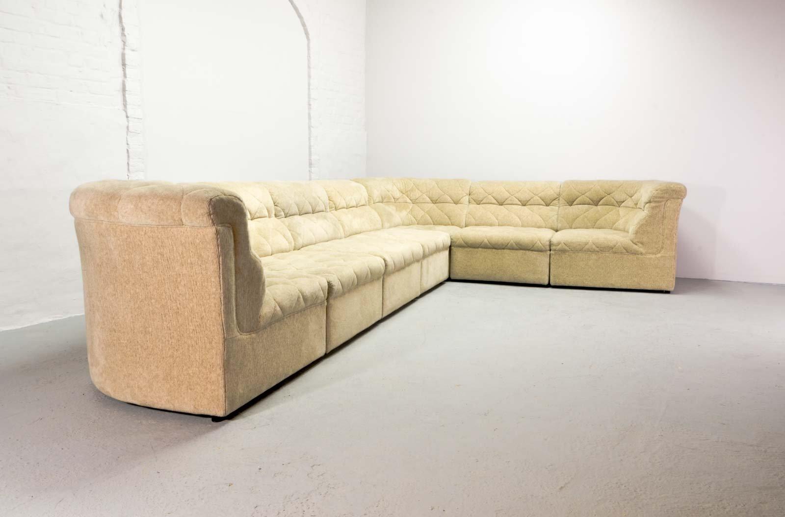 gro es modulares sofa von laauser 1970er bei pamono kaufen. Black Bedroom Furniture Sets. Home Design Ideas