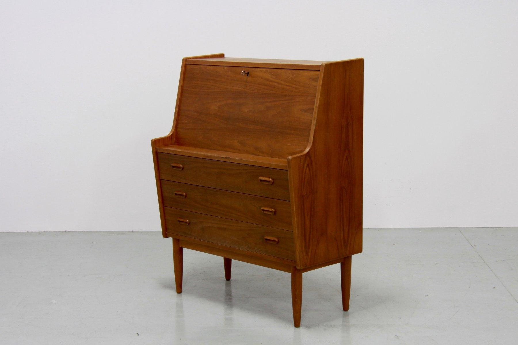 d nisches teak furnier sekret r von falster 1970er bei. Black Bedroom Furniture Sets. Home Design Ideas