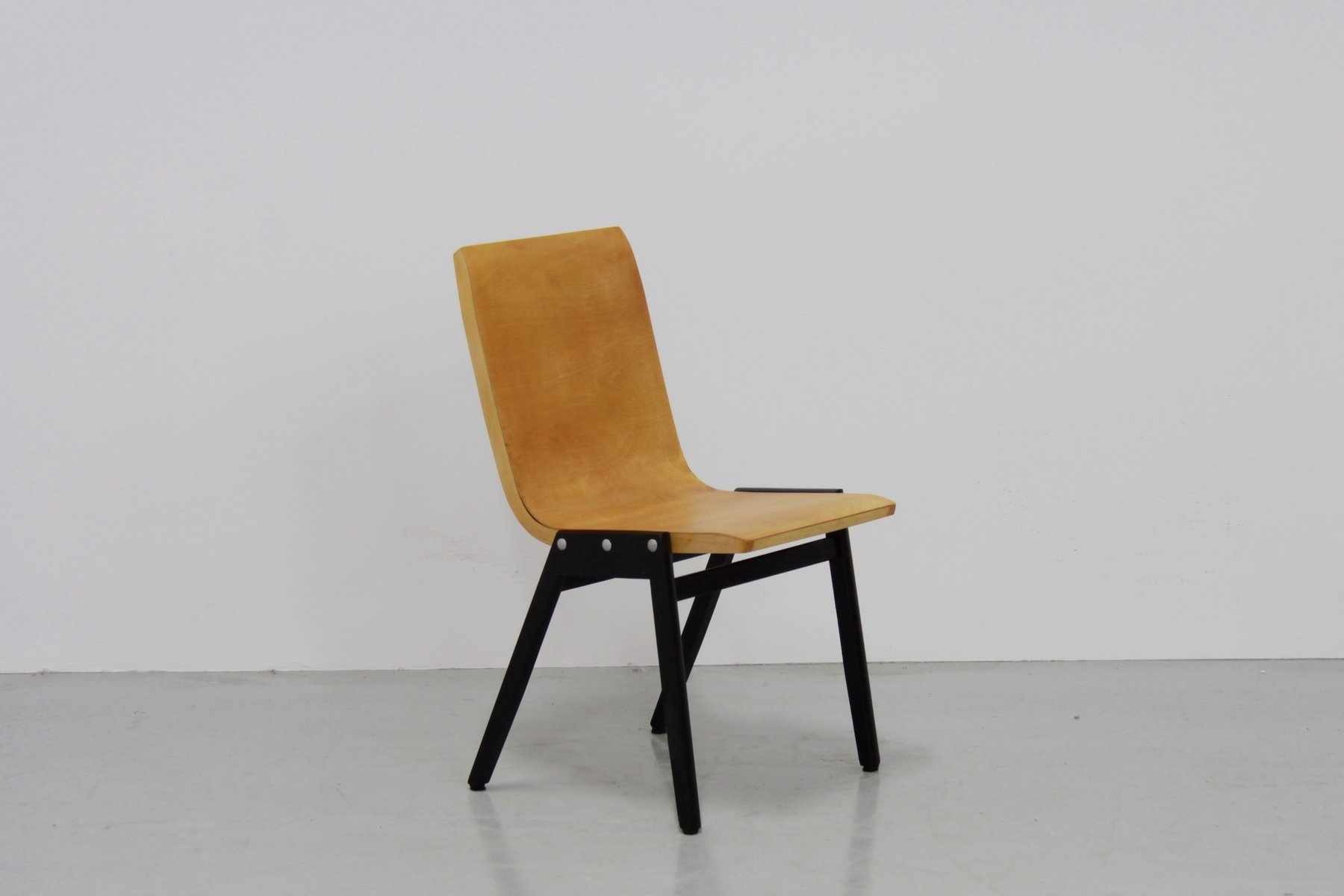 Mid Century Stacking Chairs By Roland Rainer Set Of 4