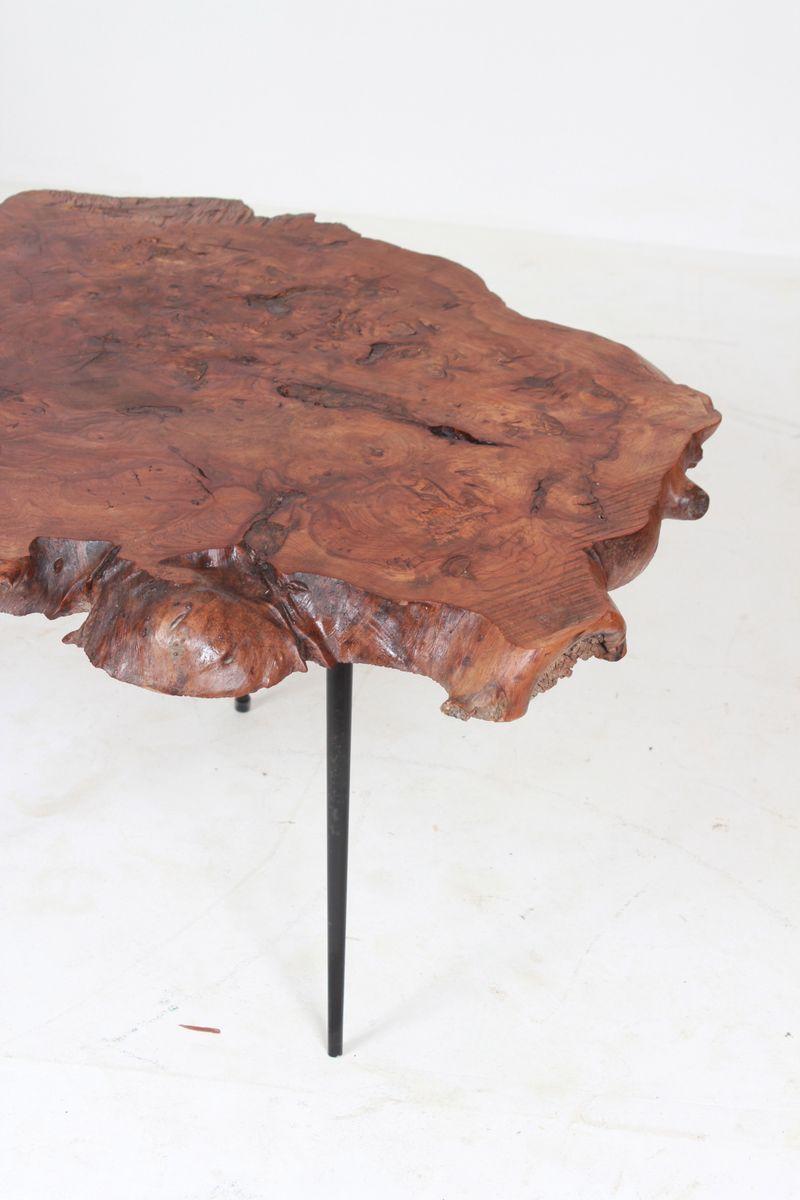 table d 39 appoint vintage en bois en vente sur pamono. Black Bedroom Furniture Sets. Home Design Ideas