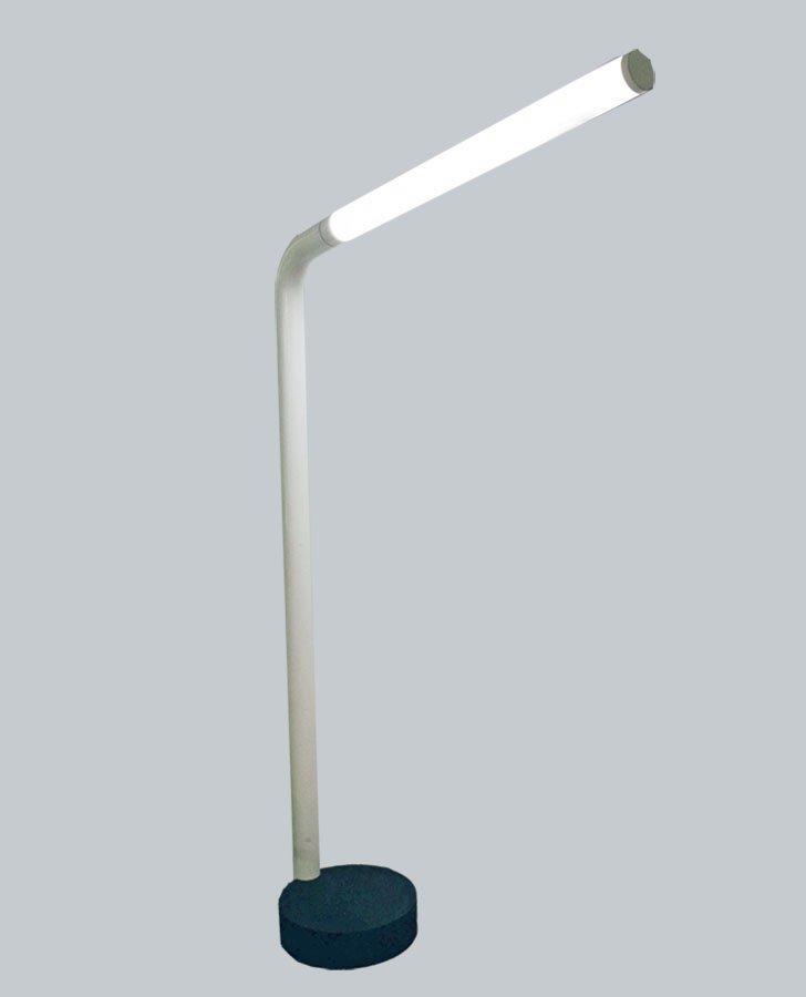 Stehlampe mit Neonlicht von Tronconi, 1970er