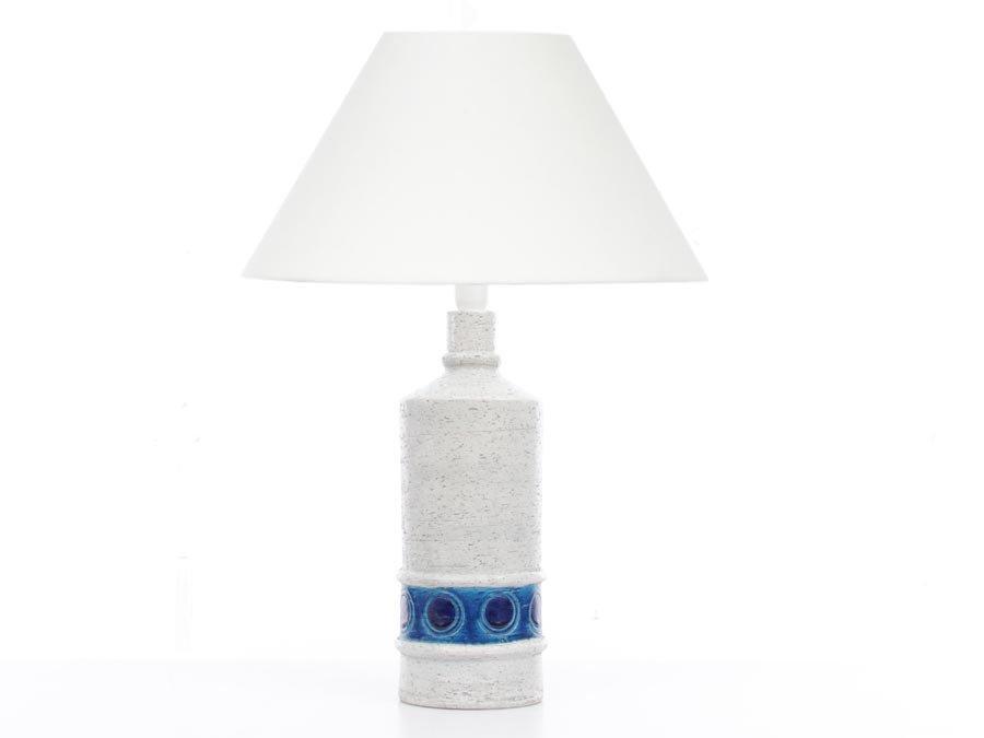 grande lampe vintage en c233ramique par aldo londi pour