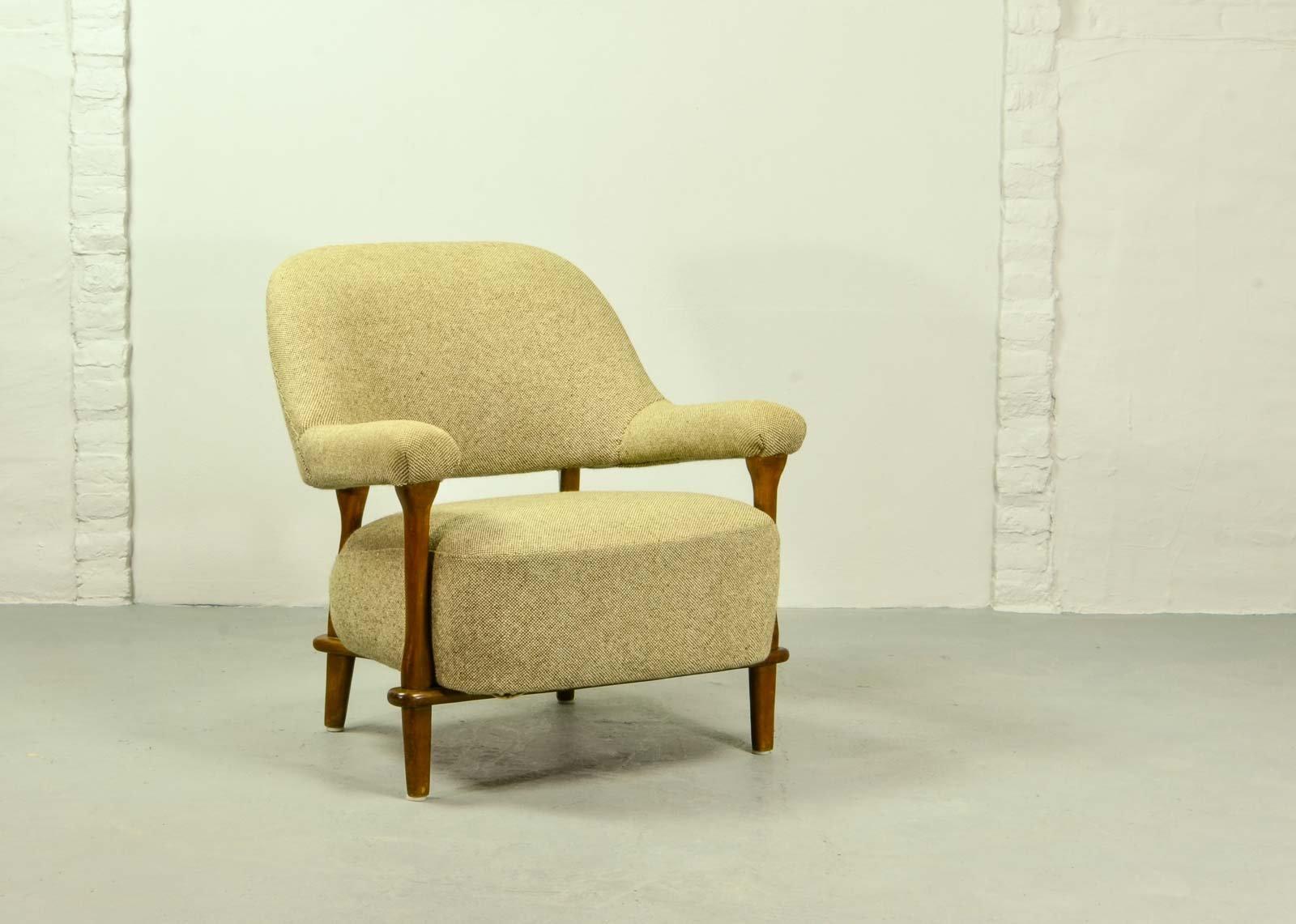 mid century sessel von theo ruth f r artifort 1957 bei pamono kaufen. Black Bedroom Furniture Sets. Home Design Ideas