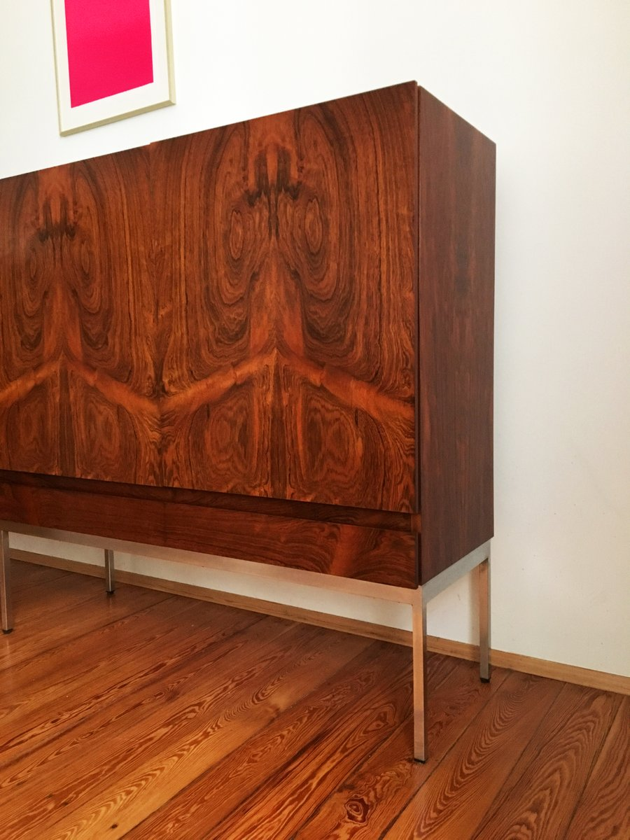 mid century b60 palisander highboard by dieter w ckerlin for behr m bel for sale at pamono. Black Bedroom Furniture Sets. Home Design Ideas