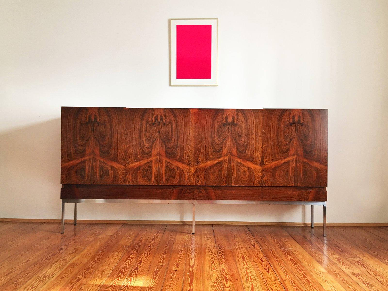 mid century b60 palisander highboard von dieter w ckerlin f r behr m bel bei pamono kaufen. Black Bedroom Furniture Sets. Home Design Ideas