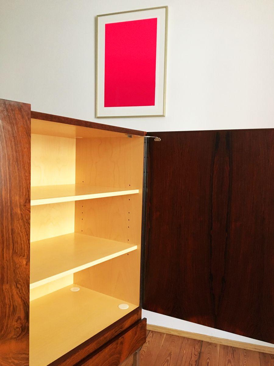 mid century b60 palisander highboard von dieter w ckerlin. Black Bedroom Furniture Sets. Home Design Ideas