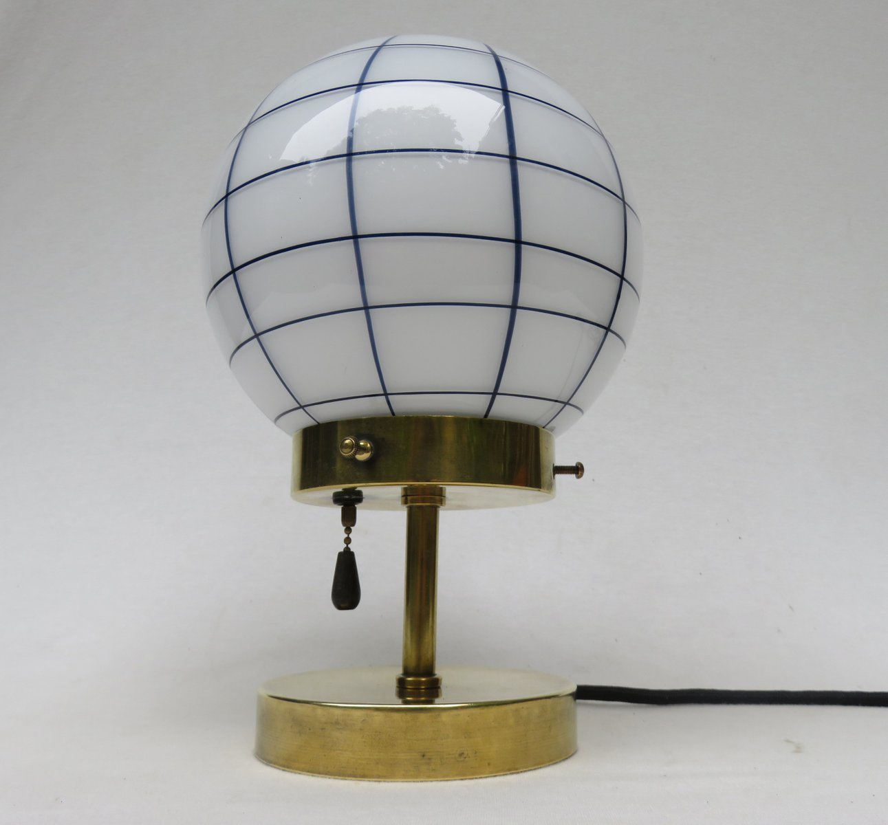 Vintage small art deco brass table lamp for sale at pamono vintage small art deco brass table lamp aloadofball Choice Image