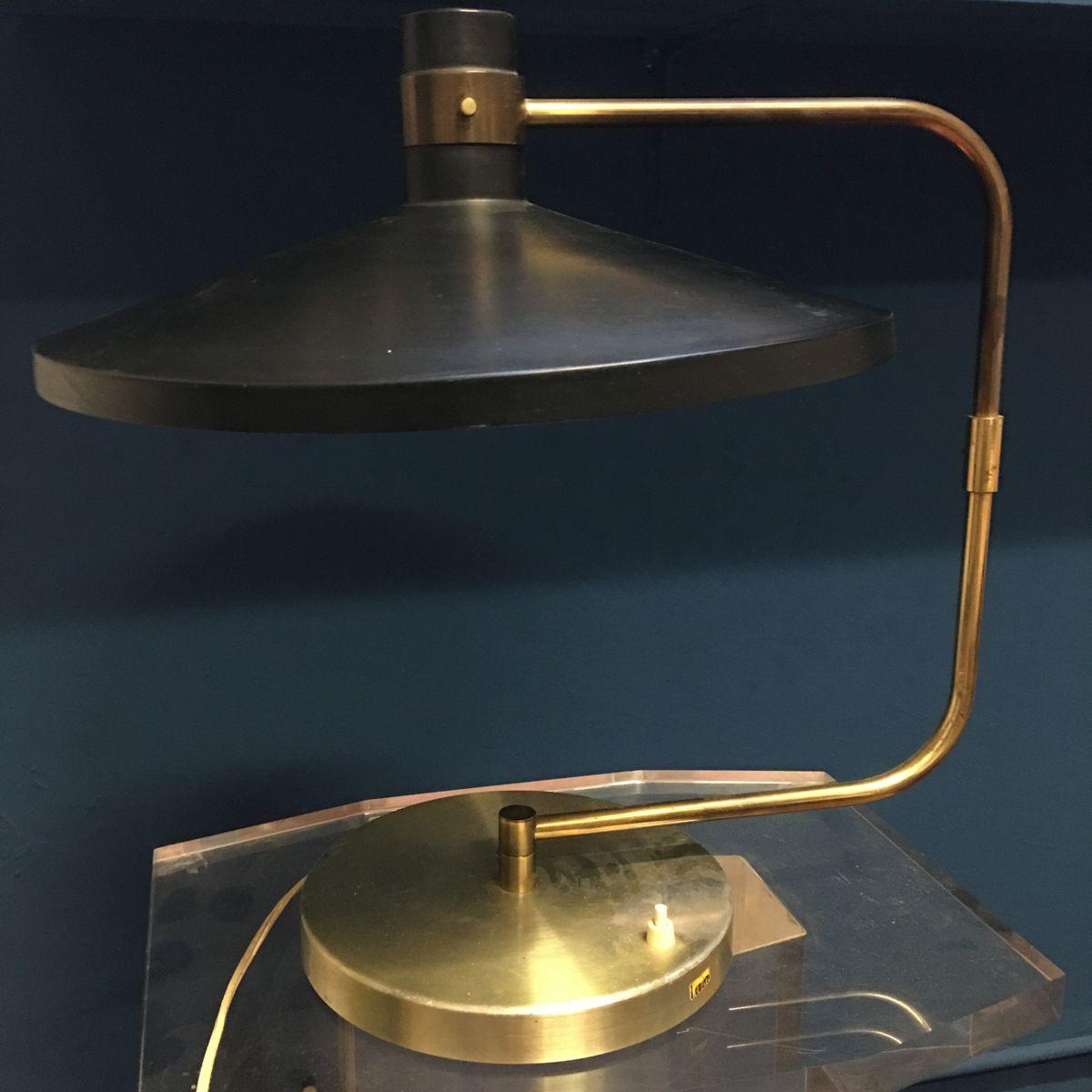 Verstellbare Vintage Tischlampe von Lumière