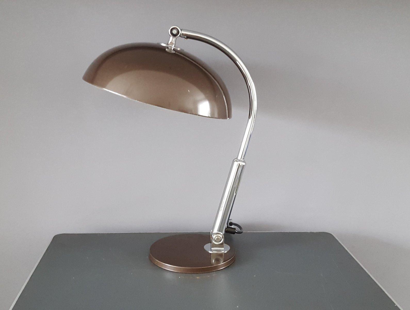 Vintage Schreibtischlampe von H. Busquet für Hala