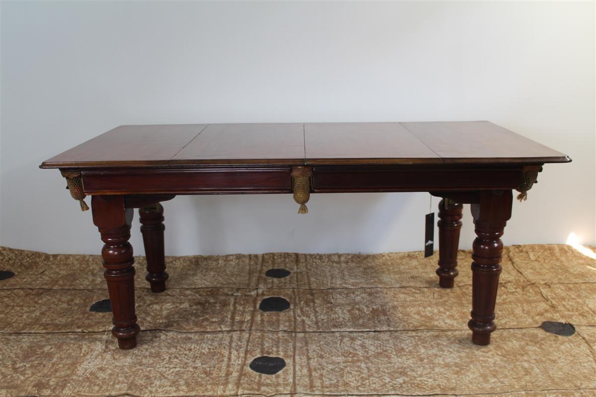 Billardtisch/ Esstisch von E.G. Riley, 1930er