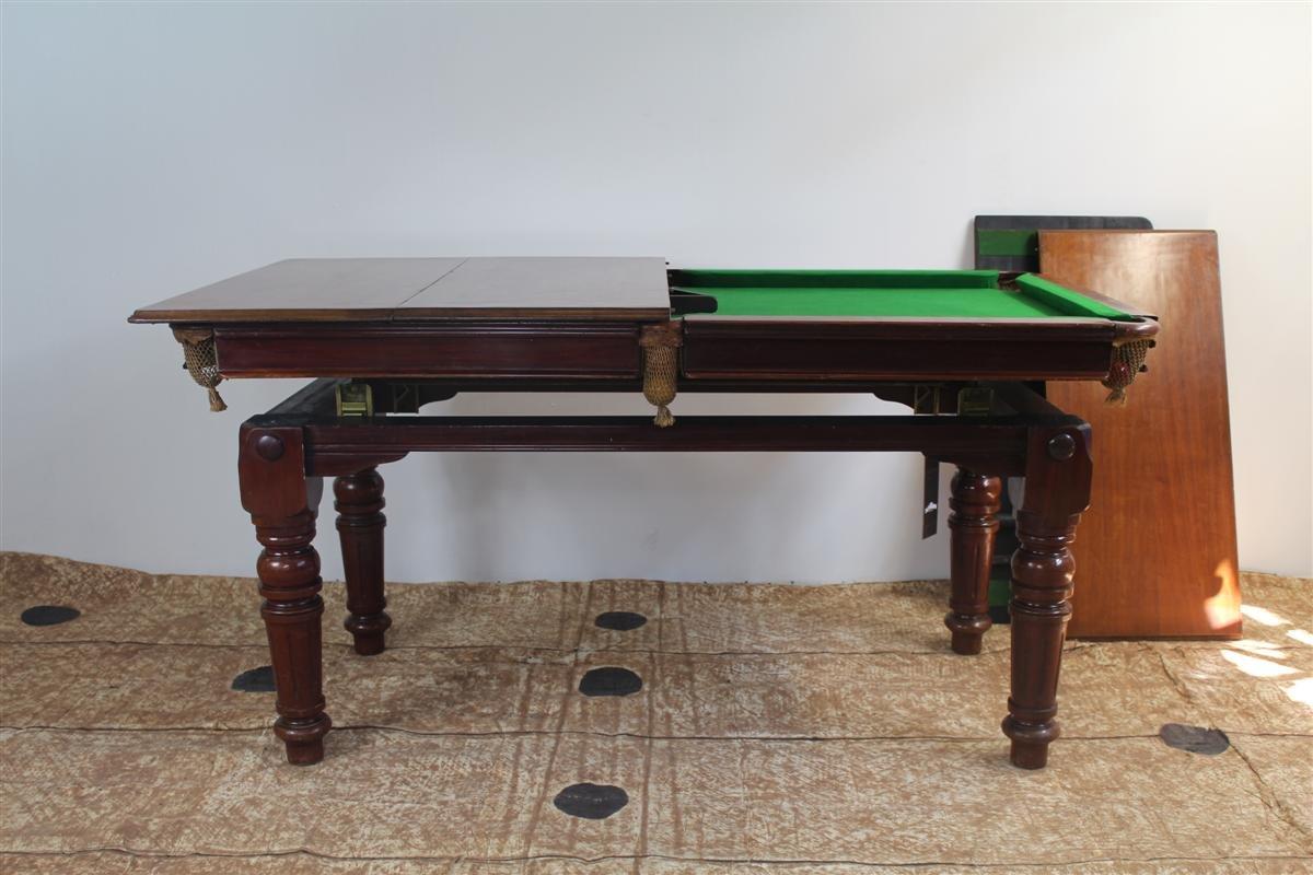 Tavolo da pranzo e da biliardo in quercia di e g riley regno unito anni 39 30 in vendita su pamono for Tavolo da biliardo trasformabile in tavolo da pranzo