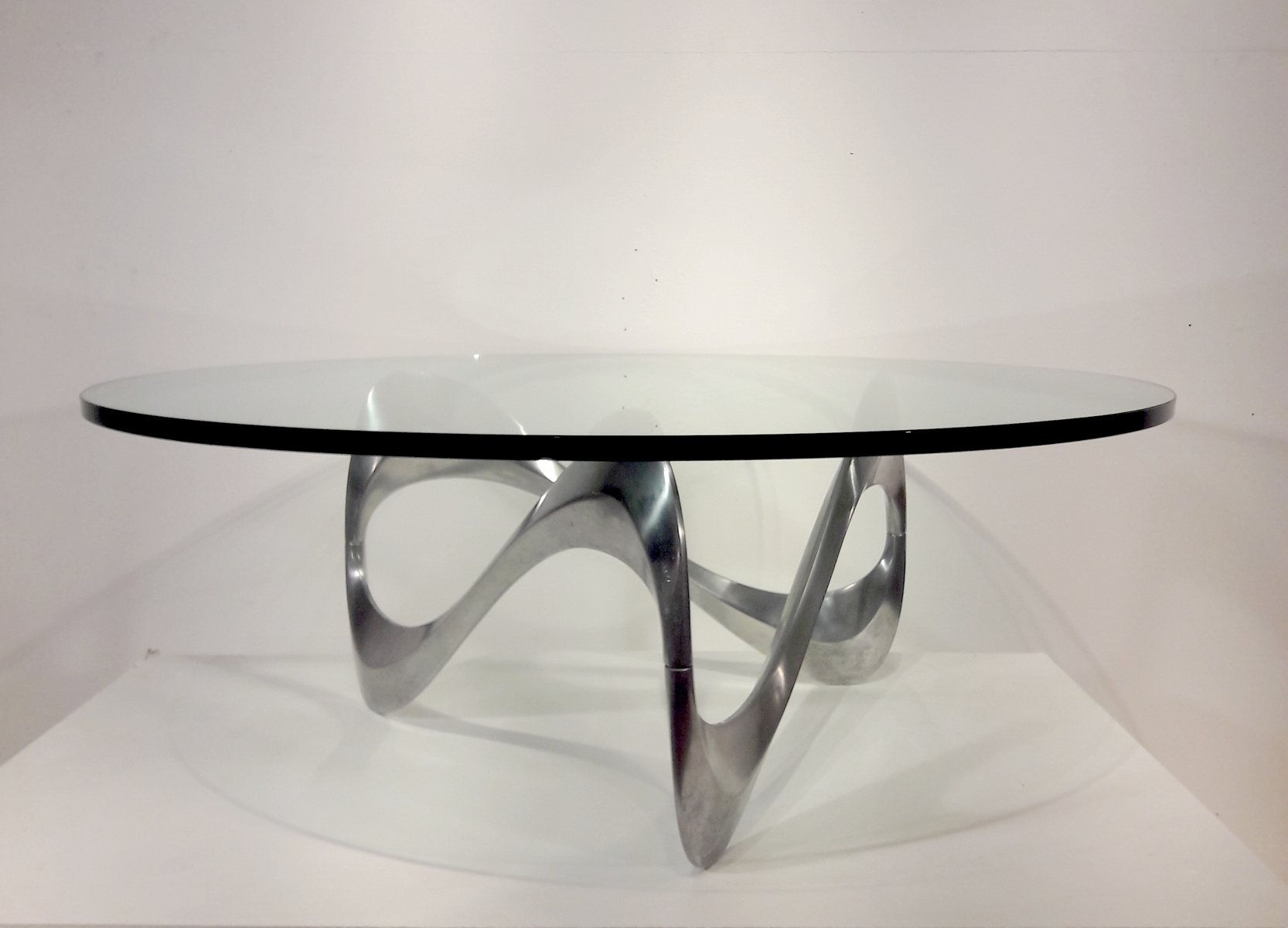 Vintage Coffee Table By Knut Hesterberg For Ronald Schmitt For Sale