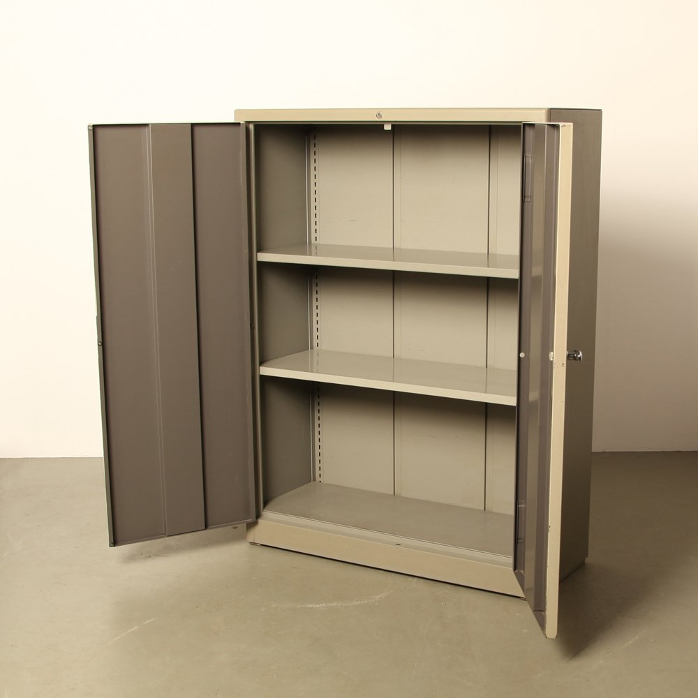 Mid Century Two Door Filing Cabinet By Willem Hendrik Gispen For