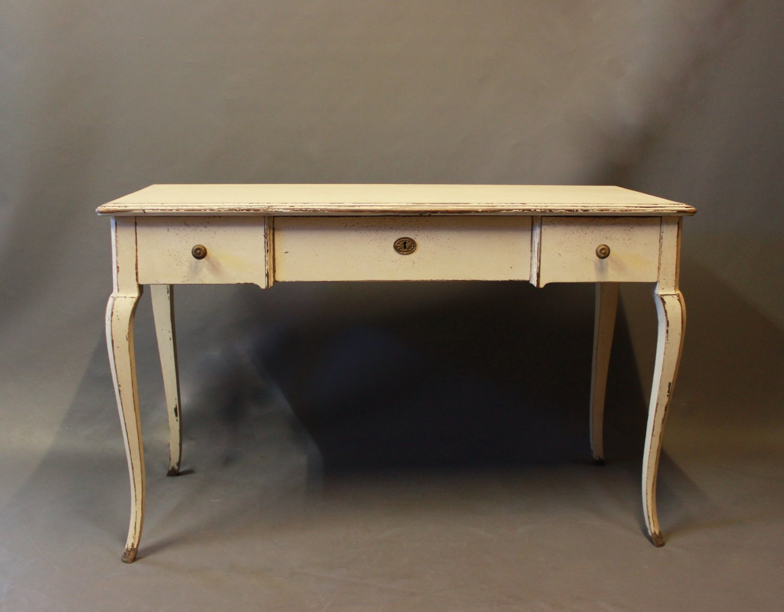 Charmant Grey Painted Desk, 1930s