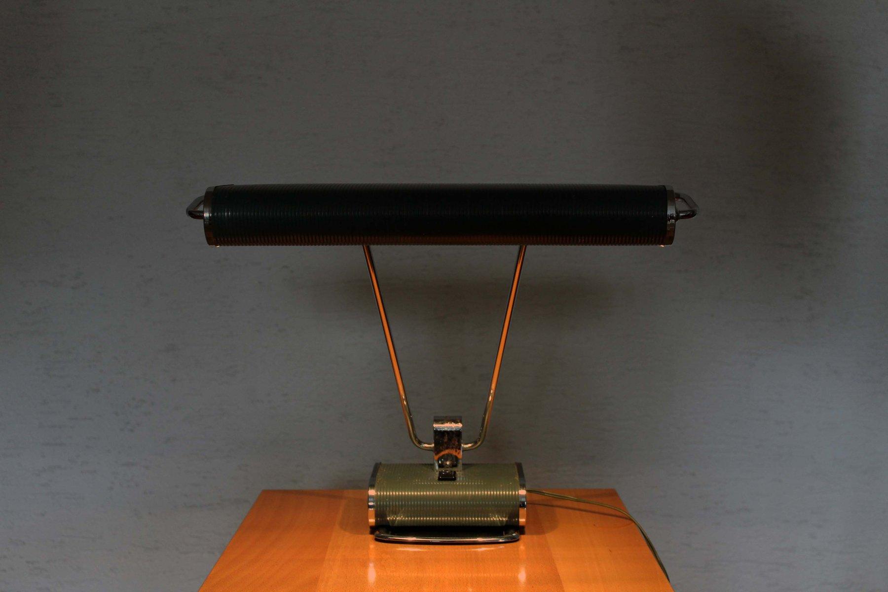 lampe de bureau n71 par eileen gray pour jumo 1970s en vente sur pamono. Black Bedroom Furniture Sets. Home Design Ideas