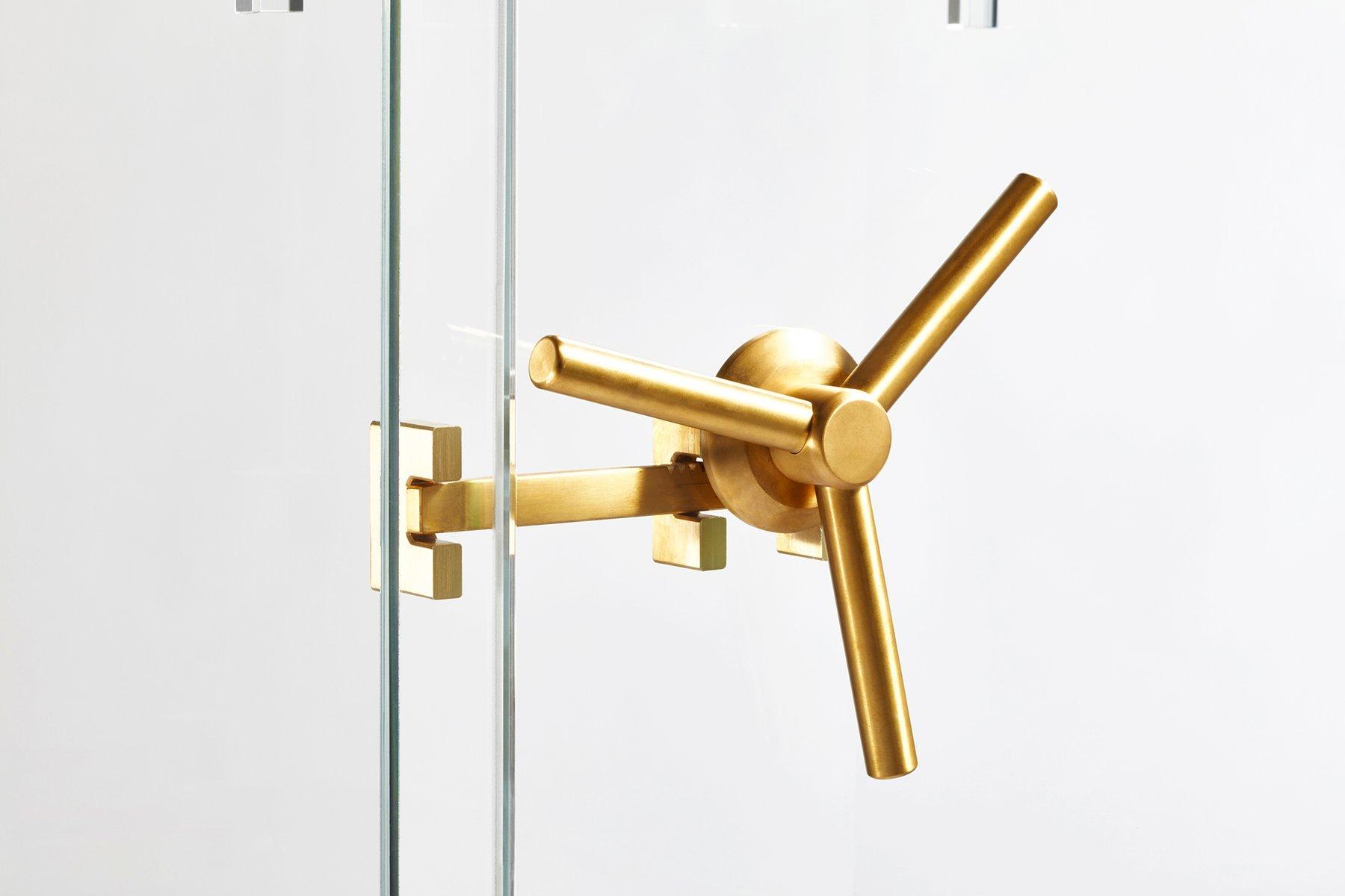 kristallglas tresor von ctrlzak f r editions milano 2015 bei pamono kaufen. Black Bedroom Furniture Sets. Home Design Ideas
