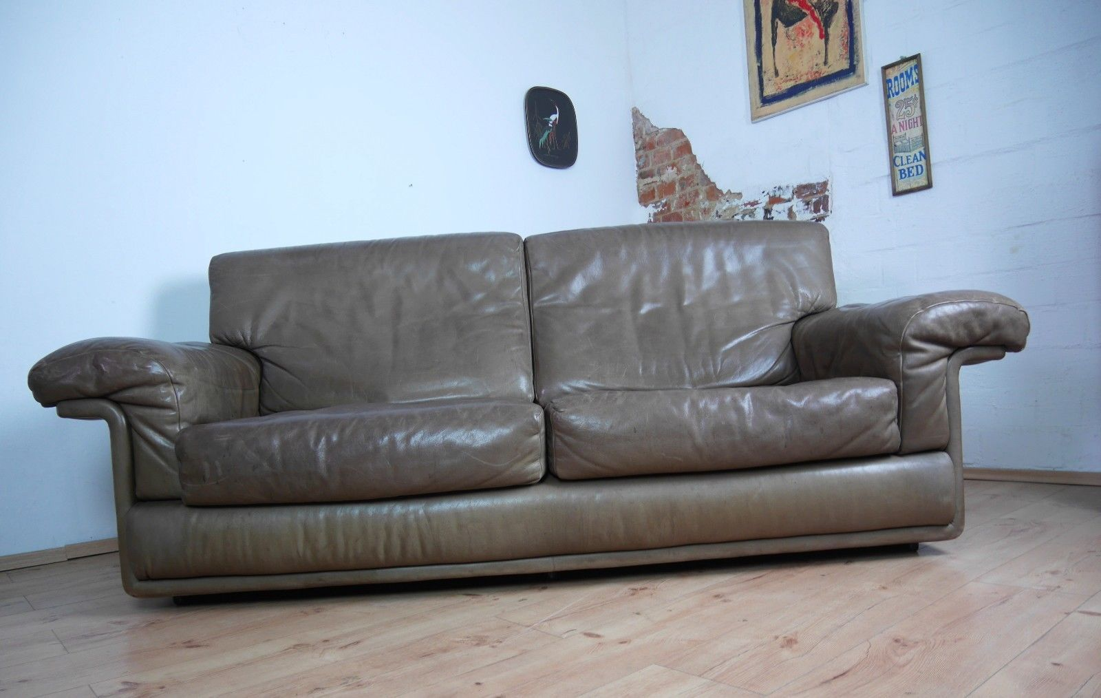 Vintage DS 68 Leather Living Room Set From De Sede