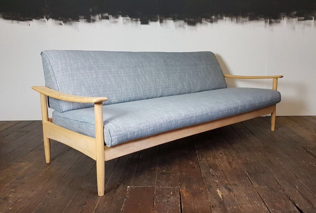 Mid Century Sofa Bed By Guy Rogers