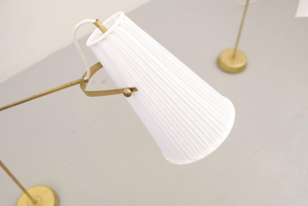 stehlampen von hans bergstr m f r atelj lyktan 1950er 2er set bei pamono kaufen. Black Bedroom Furniture Sets. Home Design Ideas