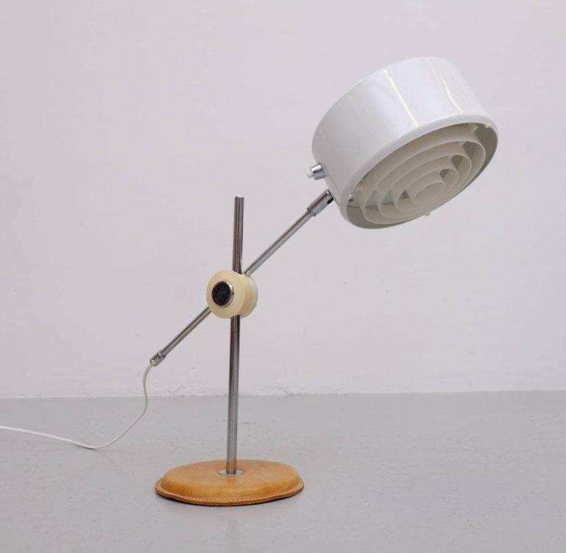 Simris/Olympia Tischlampe von Anders Pehrson für Ateljé Lyktan, 1960er
