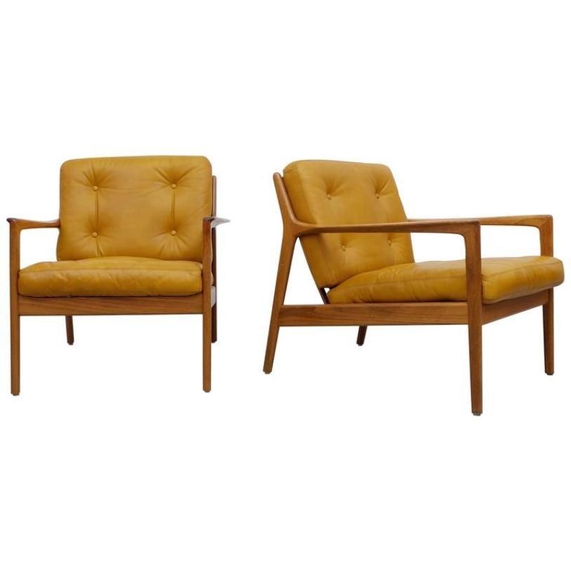 USA-75 Sessel von Folke Ohlsson für DUX, 1950er, 2er Set