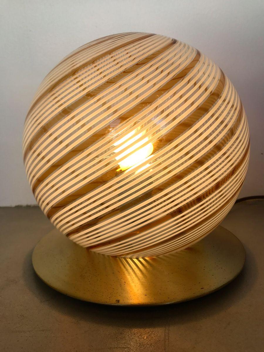 italienische murano lampen von massimo lella vignelli f r venini 1970er 2er set bei pamono. Black Bedroom Furniture Sets. Home Design Ideas