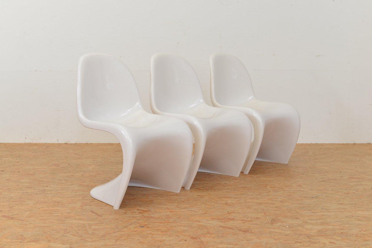 s chair von verner panton f r fehlbaum 1971 bei pamono kaufen. Black Bedroom Furniture Sets. Home Design Ideas