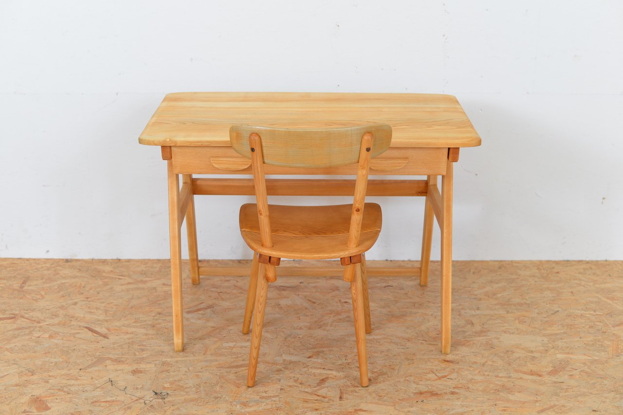 Vintage Desk Chair By Jacob Müller For Wohnhilfe