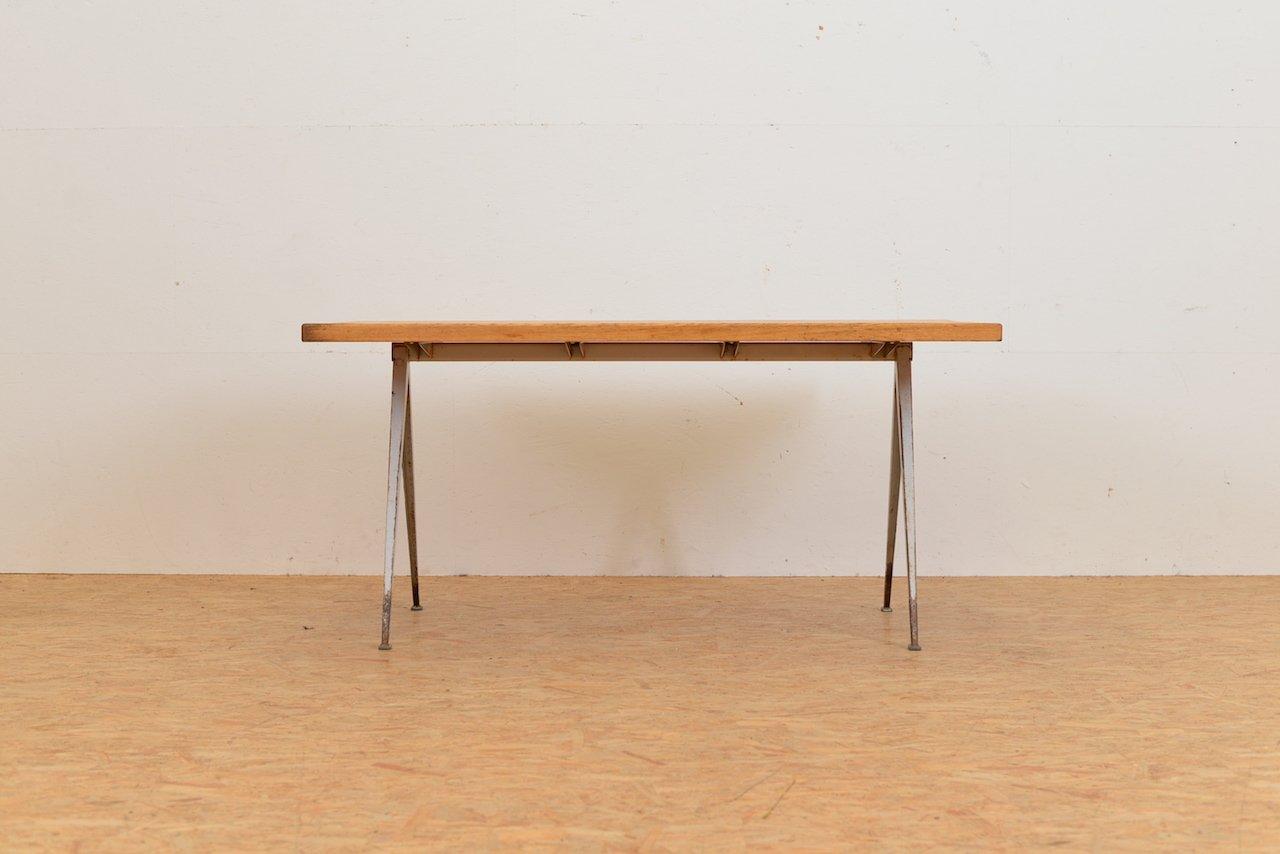 Vintage Pyramiden Tisch von Wim Rietveld für Ahrend De Cirkel