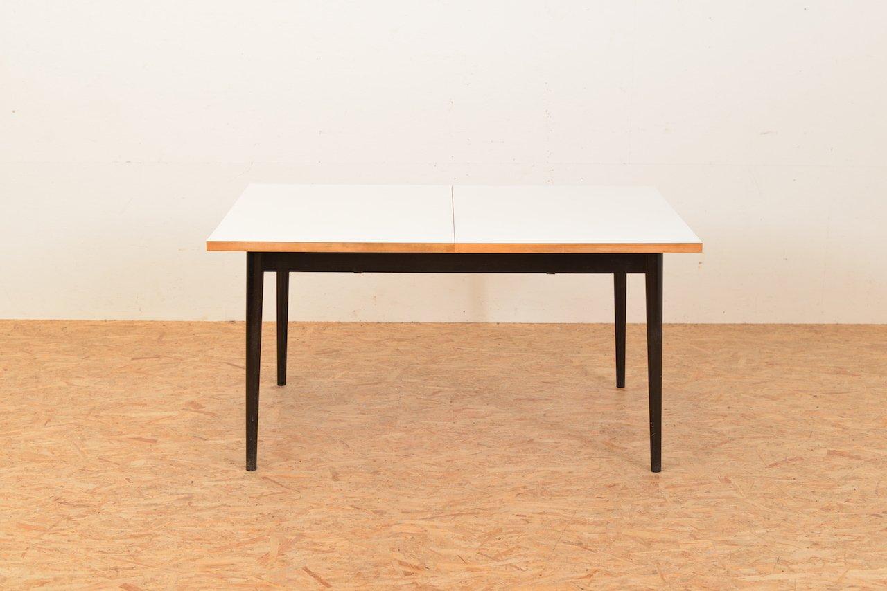 Ausziehbarer Vintage Tisch von Fred Ruf für Wohnbedarf