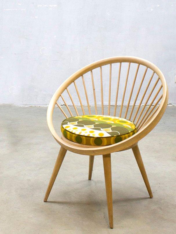 Vintage Circle Stuhl von Yngve Ekström für Swedese