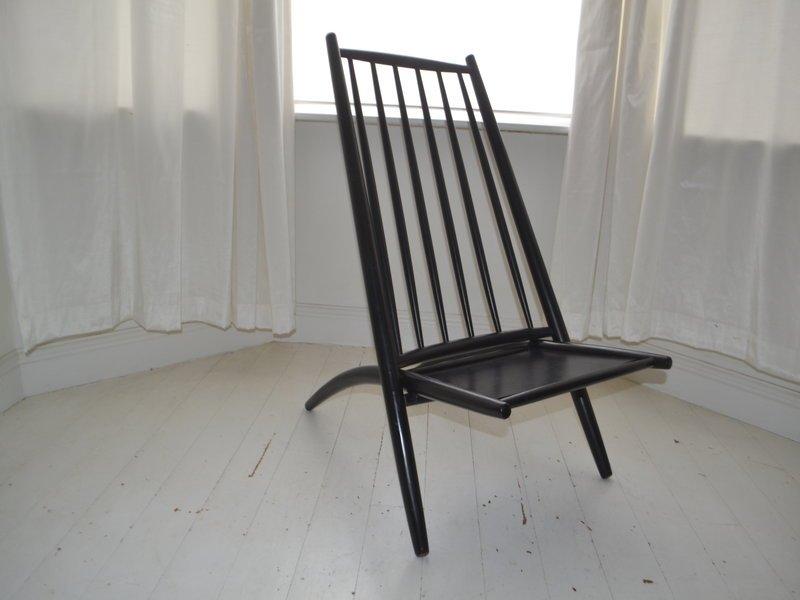 Skandinavischer vintage kongo stuhl von alf svensson f r - Skandinavischer stuhl ...