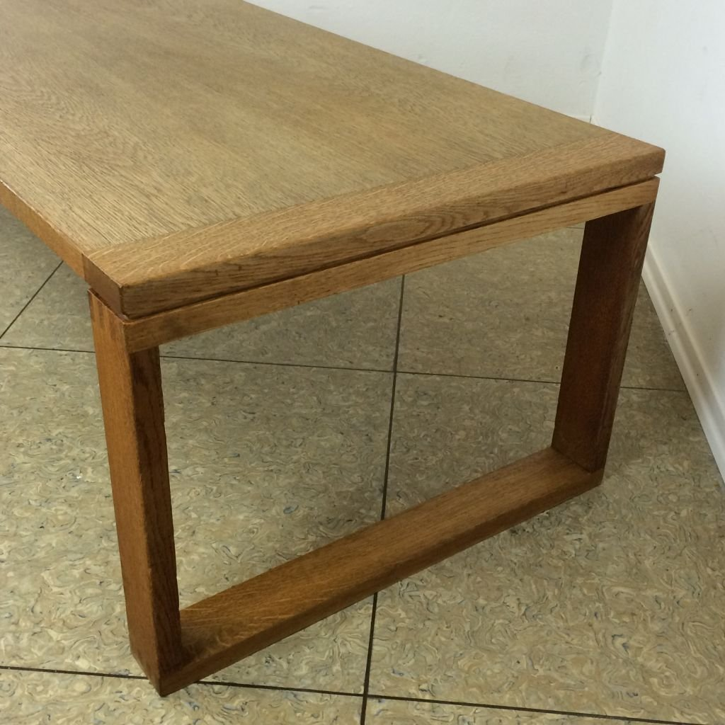 Mid Century Modern Coffee Table Australia: Mid-Century Oak Coffee Table, 1960s For Sale At Pamono