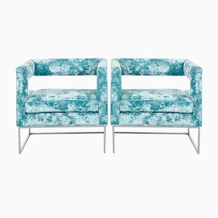 Marvelous Open Back Lounge Chairs From Bernhardt 1970S Set Of 2 For Caraccident5 Cool Chair Designs And Ideas Caraccident5Info